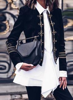 Neueste Modetrends bei DamenJacken. Kaufen Sie modige DamenJacken online bei Floryday - Ihr Lieblings-Onlinestore. Look Fashion, Winter Fashion, Womens Fashion, Fashion Tips, Fashion Trends, Paris Fashion, Fashion Ideas, Feminine Fashion, Cheap Fashion