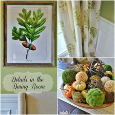 Sophia's: Details in the Dining Room Free Printables