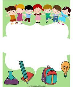 bordes para caratulas - Pesquisa Google Kids Background, Cartoon Background, Teacher Binder Covers, Disney Frames, Boarder Designs, Flashcards For Kids, Background Powerpoint, School Labels, School Displays