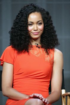 Madeleine Mantock And Her Hair - Black Hair Information Community