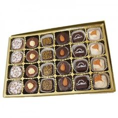 Bring your family and friends to cloud 9 with this set of 24pc Miami Beach Chocolate Box!
