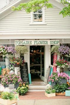 I want my own flower shop- L