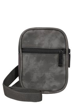 """adidas Originals. FEST - Across body bag - ash. Pattern:plain. Fastening:Zip. Compartments:mobile phone pocket. length:5.0 """" (Size One Size). width:1.0 """" (Size One Size). Lining:Polyester. Fabric:Synthetic leather. Outer material:polyester. heig..."""