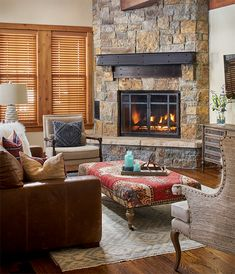 A Mountain Home Makeover With Texture Galore