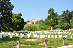 Arlington Cemetery in Washington D.C.! :)