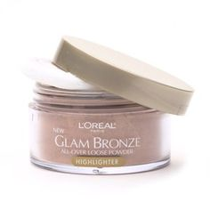 L'Oreal Glam Bronze All-Over Loose Powder Highlighter Riviera Riche *** This is an Amazon Affiliate link. You can get additional details at the image link.