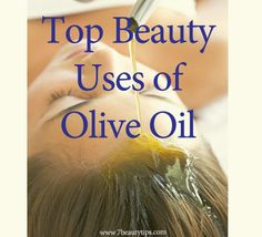 uses of olive oil for hair and skin