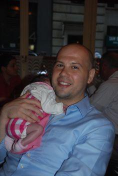 Hannah and her Papa