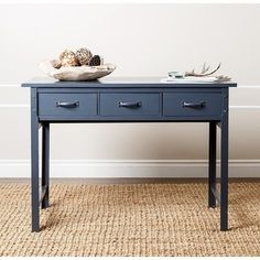 Shop for ABBYSON LIVING 'Booker' Antique Blue Console Sofa Table. Get free…
