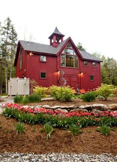 Maybe the perfect barn house
