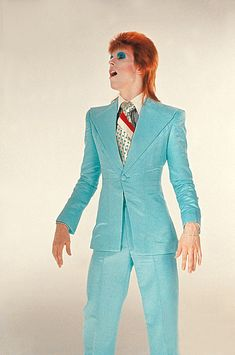 David Bowie by Mick Rock - Victoria and Albert Museum