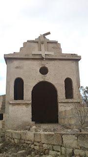 Ermita en ruinas en El Salto - Granadilla de Abona