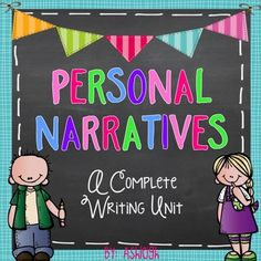 Writing workshop is the way to go for addressing the Common Core writing standards!  This comprehensive unit addresses all of the narrative writing standards!This is a 6-week unit that is broken down to day by day lessons.  Each lesson contains directions for a mini lesson, independent work time, and share time.