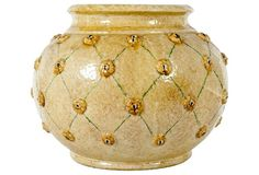 Dolfi Glazed Ceramic Planter