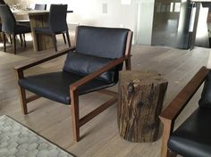 Solid Wood Reclaimed Cube Side Table - contemporary - side tables and accent tables - toronto - Urban Tree Salvage