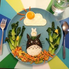 Totoro Lunch, Kid's food