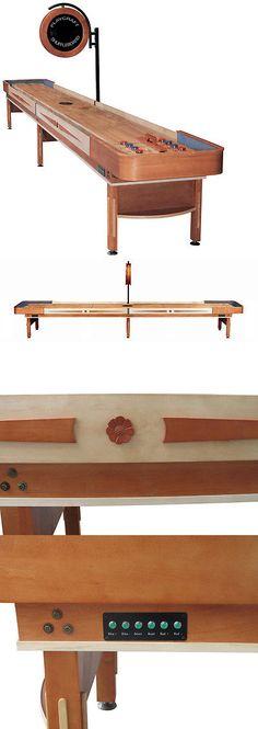 Shuffleboard 79777: Playcraft Telluride Honey Shuffleboard Table -> BUY IT NOW ONLY: $3970.64 on eBay!