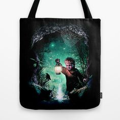 Light in the dark Tote Bag by moncheng - $22.00