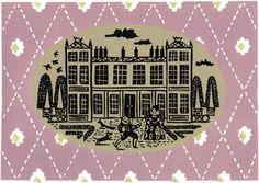 Christopher Brown - Home - Elizabethan - linocut