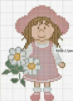 Girl...cross stitch