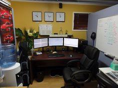 Lewis Mocker's trading desk