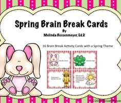 Spring Brain Break Cards!  (scheduled via http://www.tailwindapp.com?utm_source=pinterest&utm_medium=twpin&utm_content=post52252614&utm_campaign=scheduler_attribution)