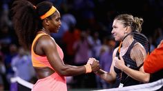 Simona Halep: 'Serena Williams should have been the no. 1 seed here' Simona Halep, Serena Williams, Steffi Graf, Tennis World, Billie Jean King, Tennis Tips, Tennis Elbow, Tennis Players, Beijing