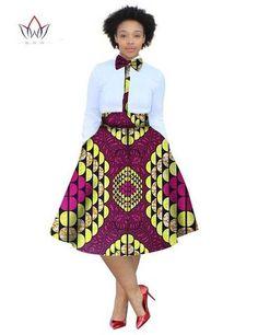 2017 christmas dress Plus Size 2 Pieces African Print Dashiki Shirt Skirt Set Bazin Rche Femme Africa Clothing natural at Diyanu African Print Dress Designs, African Print Skirt, African Print Dresses, African Print Fashion, African Design, Short African Dresses, Latest African Fashion Dresses, African Clothes, Shweshwe Dresses