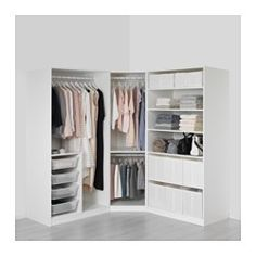 Ikea PAX corner unit measurements bedroom Pinterest