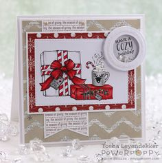 Stamp Talk with Tosh: Happiest Holiday Collection Release ~ Power Poppy