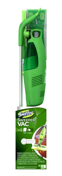 Change the way you clean... Forever. As low as $29.19/ea. Swiffer SweeperVac Kit - 1 Rechargeable Vacuum Sweeper, 1 Battery Charger, 1 Replaceable Filter, 2 Dry Swiffer Sweeper Refills. #buythecase