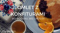 Omlet z konfiturami (bez glutenu, bez laktozy)