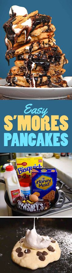 These S'mores Pancakes Need To Be Part Of Your Weekend Routine