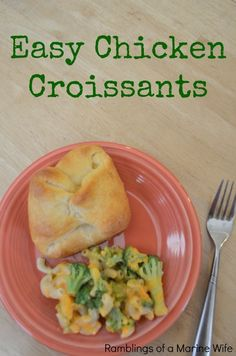 Easy Chicken Croissa