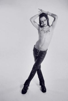Marilyn Manson.  Weird, I know.  And somehow so inspiring.