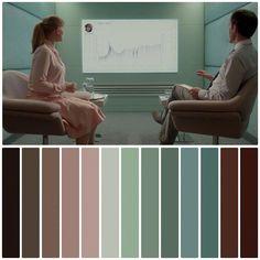 Movie Color Palette, Colour Pallette, Color Palate, Mood Board Interior, Cinema Colours, Design Palette, Film Grab, Color Grading, Pantone