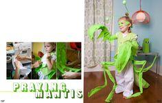 praying mantis costume