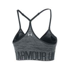 b1b7f1d201479 Under Armour Women s HeatGear Seamless Sports Bra ( 35) ❤ liked on Polyvore  featuring activewear