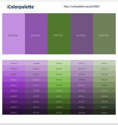 Color Combinations, Color Schemes, Purple Color Palettes, Hex Color Codes, Paint Samples, Lavender Color, Paint Colours, Color Pallets, Color Inspiration