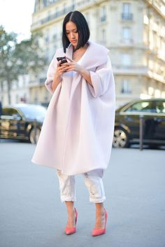 10 Totally Pretty Ways To Wear Pastels In The Fall