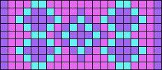 Alpha Friendship Bracelet Pattern #16141