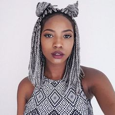 Trendy 10 Short Box Braids Hairstyles   Natural Hairstyles Grey Box Braids, Box Braids Bob, Blonde Box Braids, Short Braids, Afro Braids, Small Braids, Small Box Braids Hairstyles, African Braids Hairstyles, Cool Hairstyles