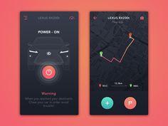 #Car Control#Daily UI - via @designhuntapp