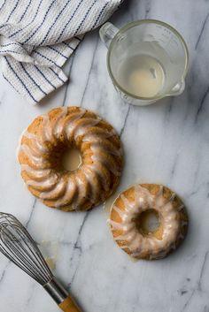 orange hazelnut bundt cake with rum glaze