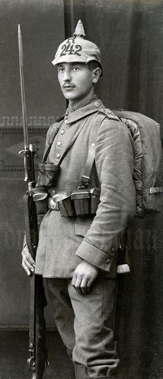 German; 242nd Reserve Infantry Regiment, c.1914