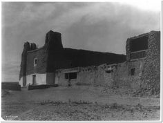 Curtis, Edward S., 1868-1952, Mission and Church at Acoma