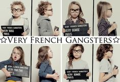 very french gangsters :: new children's eyewear brand