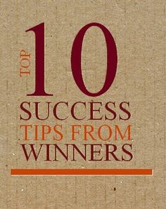 10 Success Tips From Winners Ebook