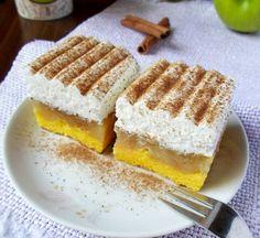 Prajitura rasturnata cu mere si frisca Cake Cookies, Tiramisu, Waffles, Bacon, Deserts, Breakfast, Ethnic Recipes, Cakes, Food