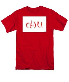Men's T-Shirt  (Regular Fit) featuring the photograph Chili Spelled With Chili Peppers by Joshua Zaring
